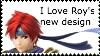Roy's New Design Stamp by SuperMarioEmblem
