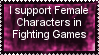 Female Fighters Fan Stamp by SuperMarioEmblem