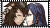 Yarne x Lucina stamp by SuperMarioEmblem
