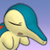 Cyndaquil is sad