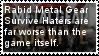 Anti-Rabid Metal Gear Survive Haters by SuperMarioEmblem