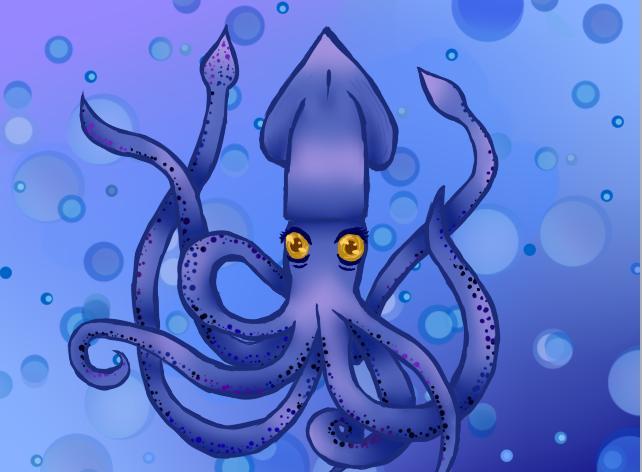 Squid by ravebloodnymph