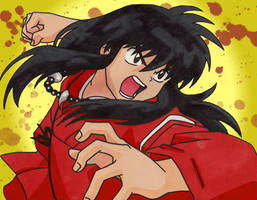 InuYasha - Human Form by lostangels22