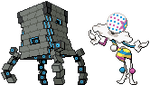 Stakataka and Blacephalon Sprites