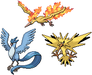Legendary Birds Sprites by conyjams