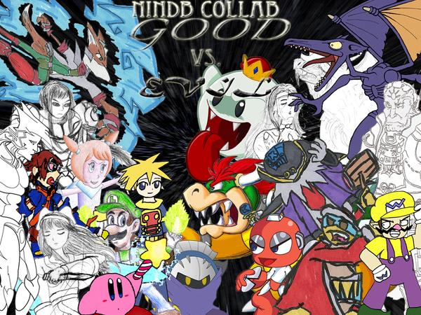 NinDB Collab 3: Good Vs. Evil by tveye363