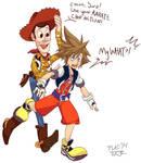 Sora and Woody