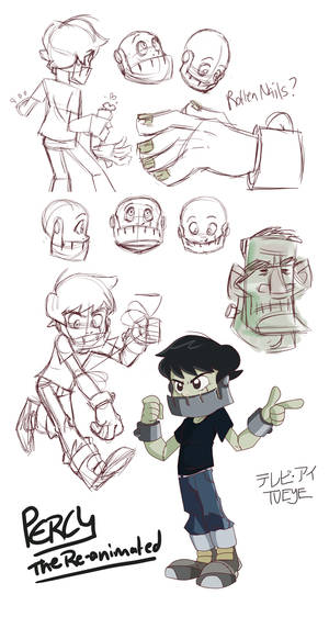 Percy Sketches