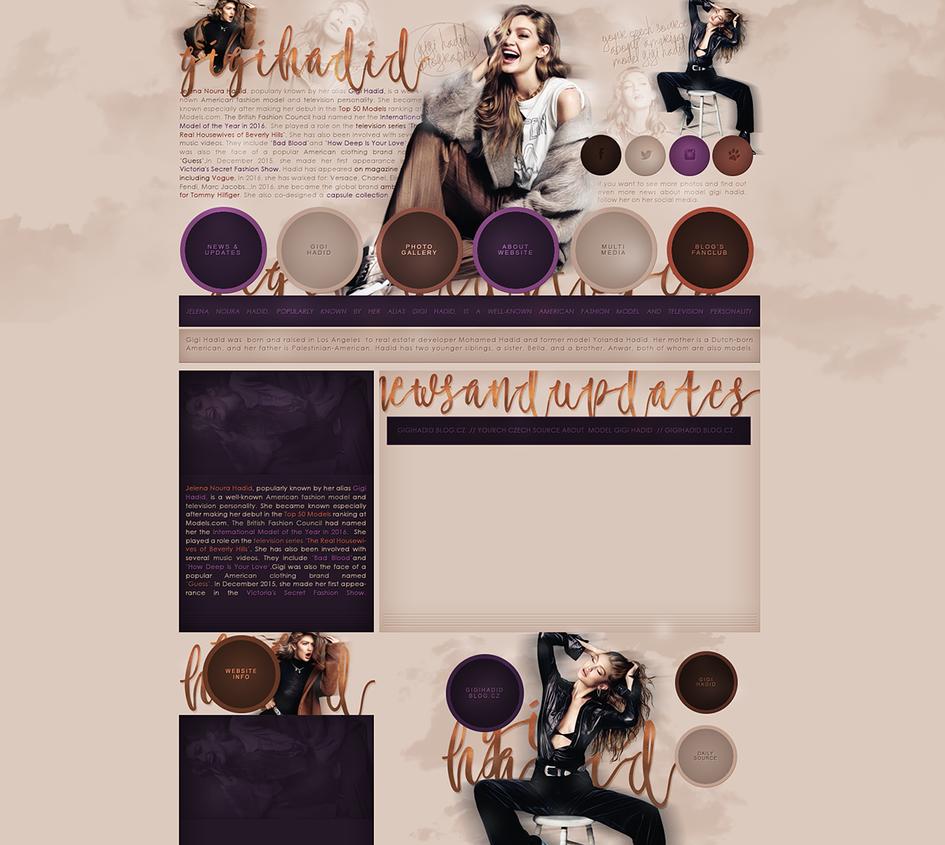 Free design (Gigi Hadid) by terushdesigns
