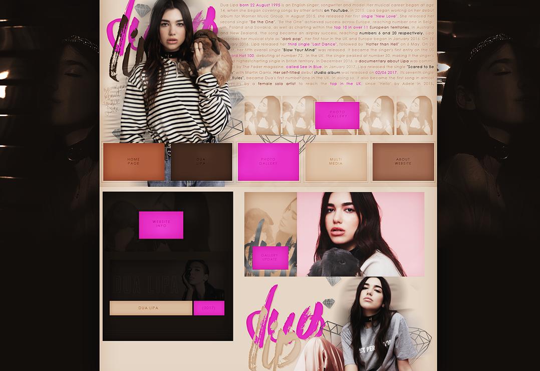 Free Design (Dua Lipa) by terushdesigns