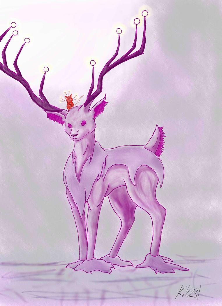 Shadow Deer by koko231
