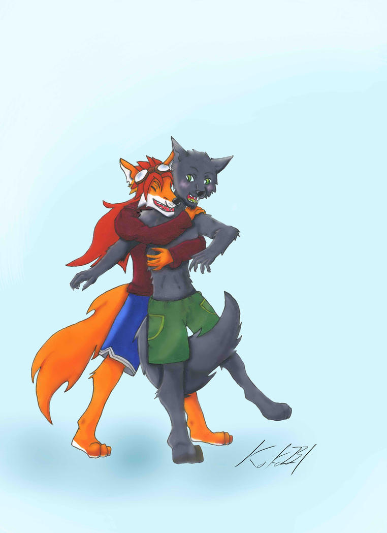 Commission - Red and Grey by koko231