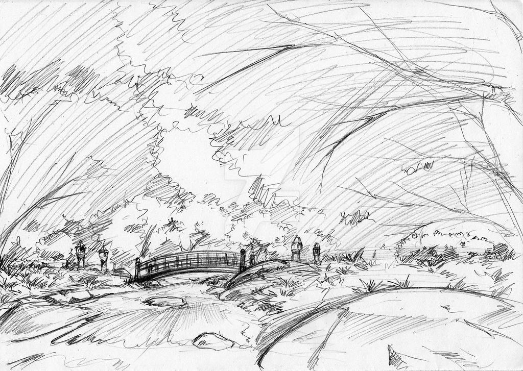 Background Sketch By Siriuflong On DeviantArt