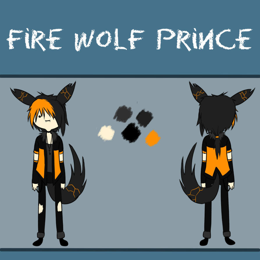 Fire Wolf Prince - Khai by SavannaEve on DeviantArt