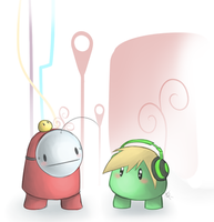 Ibb and Obb, PewdieCry by SavannaEve