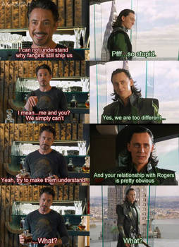 Fangirls and FrostIron