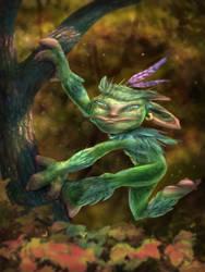 Tree creature