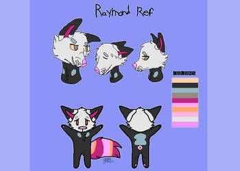 raymond reference sheet! by Gummyrino