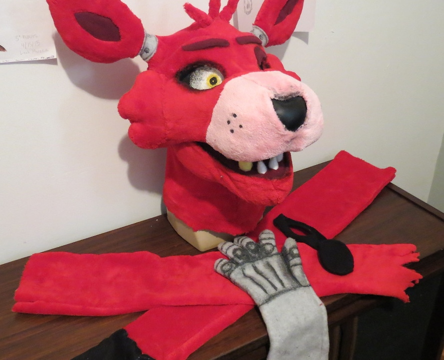 Foxy partial sold by laelamcpitty on deviantart