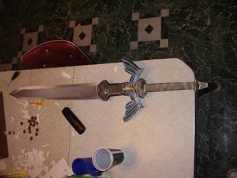 Papercraft Zelda sword by RAIZ-Vinleon