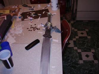 Papercraft Zelda sword 3 by RAIZ-Vinleon