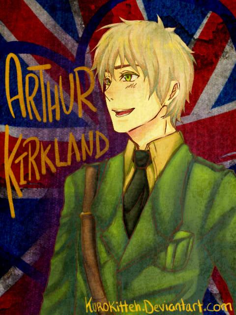 Arthur Kirkland by KuroKitteh