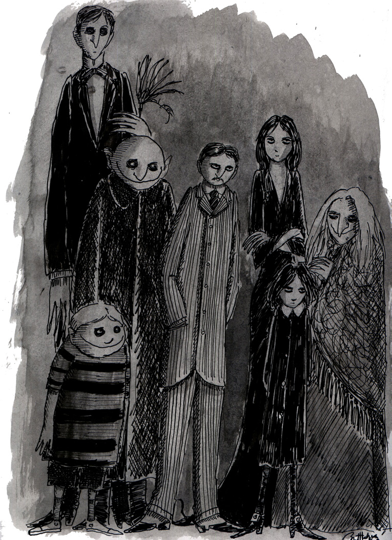 The Addams Family By Herbertzohl On Deviantart