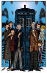 The First Doctors 11x17 Color Art