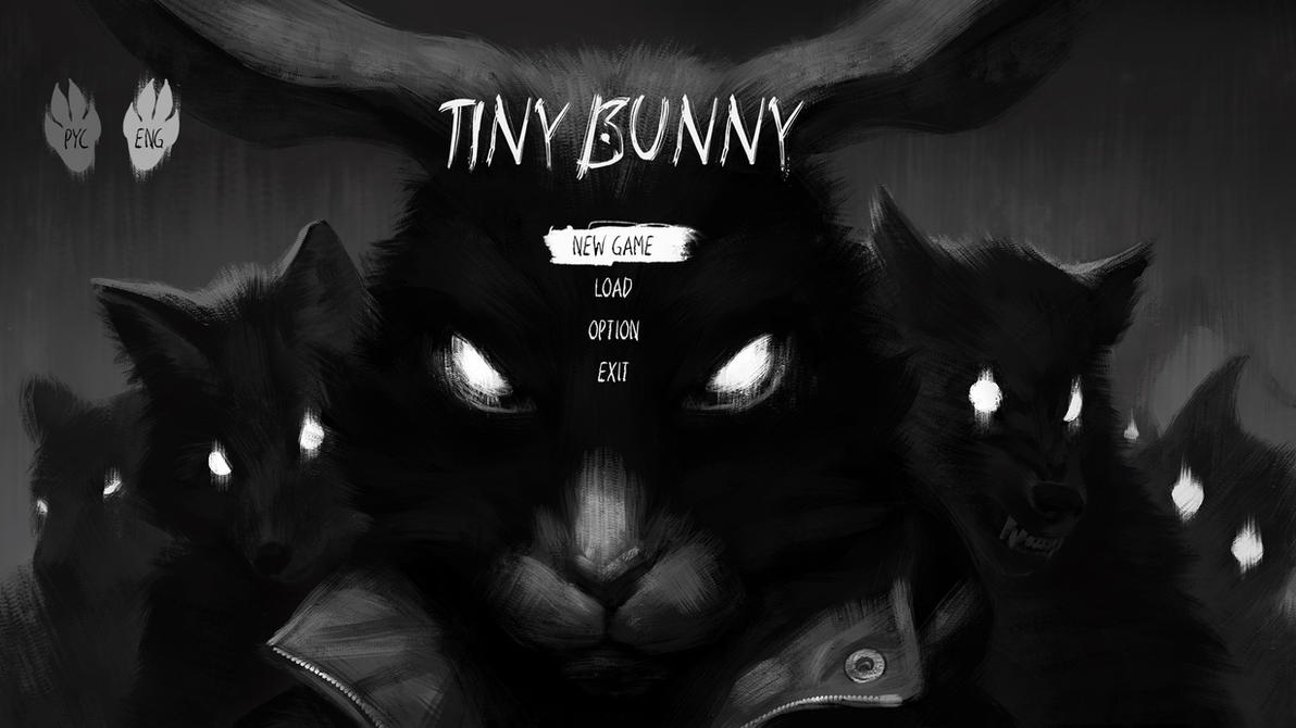 Tiny Bunny is a visual novel on Steam Greenlight by Saikono