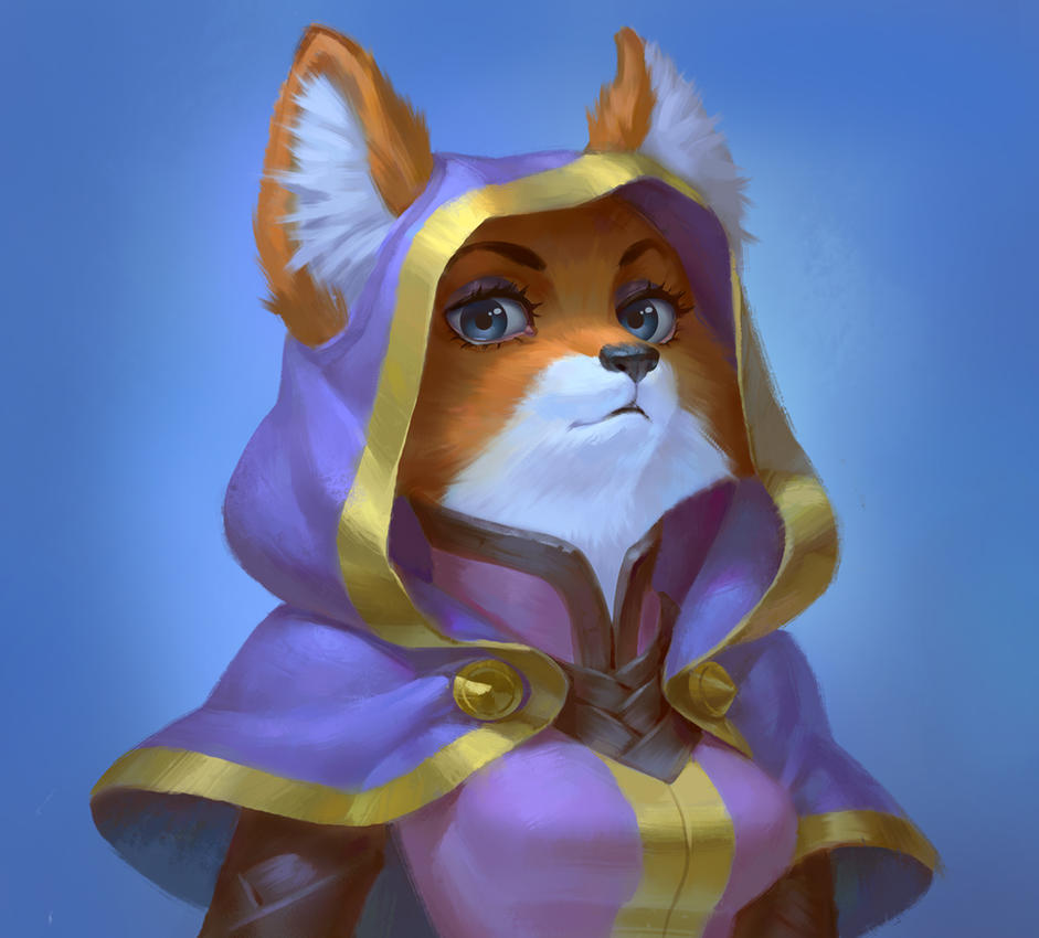 fox by Saikono
