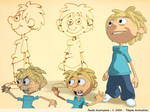 blond kid