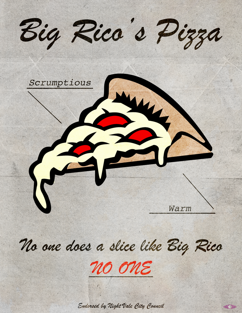 no one does a slice like big rico by missbagel on deviantart