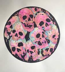 Skulls (Finished)  by RobertGillett