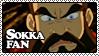 Sokka Fan Stamp by misspixyee
