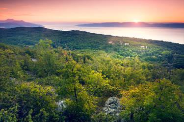 Sunrise in Croatia by Mark-Heather