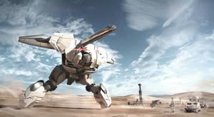 desert warzone by przemek-duda