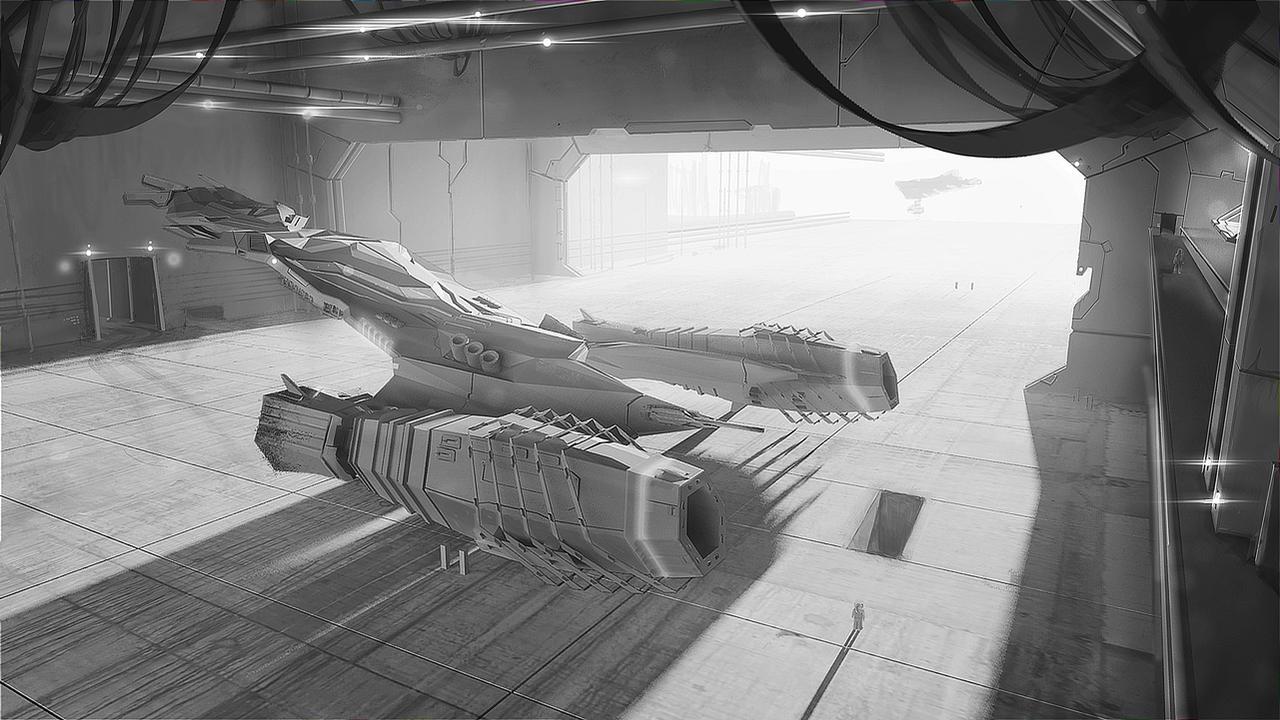 space ship by przemek-duda
