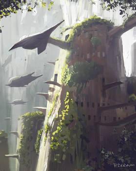 Tree house sketch