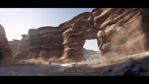 valley of the dust riders by przemek-duda