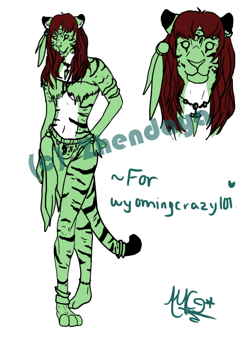:PC: Tigress ref. sheet *WIP 2* by thatdumbhorse
