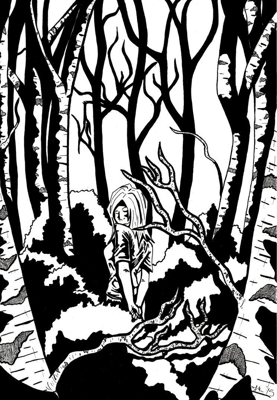 Moonlit Woods by JTHMFrAeK