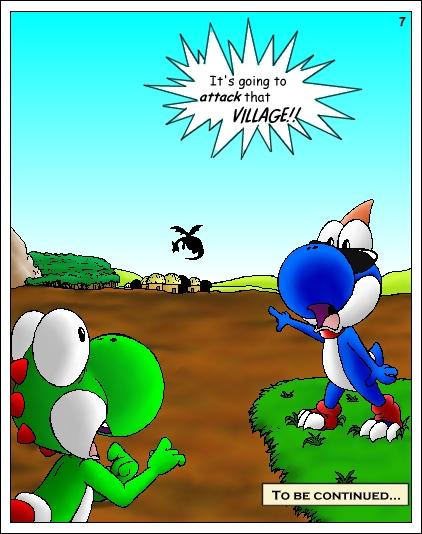 Yoshi Comic  Page 7 by LuLuLunaBunaYoshi Vs Boshi