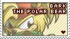 Stamp: Bark love by LuLuLunaBuna