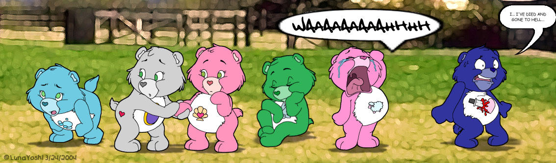 Naked care bears #4