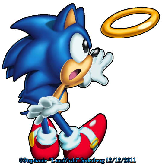 Sonic: Classic Sonic by LuLuLunaBuna