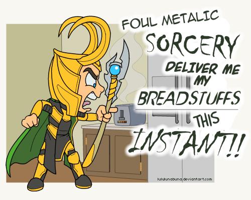 Avengers: Loki in a Sitcom lawl by LuLuLunaBuna