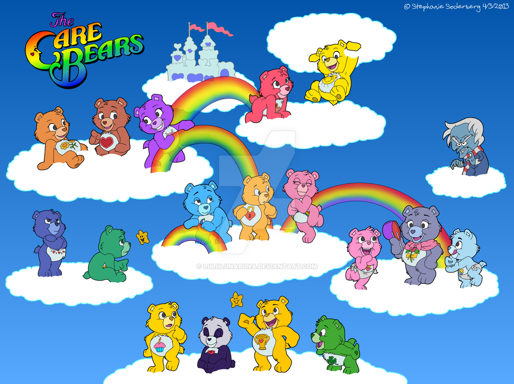Image Gallery original care bears characters