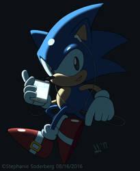 Sonic: Tech by LuLuLunaBuna