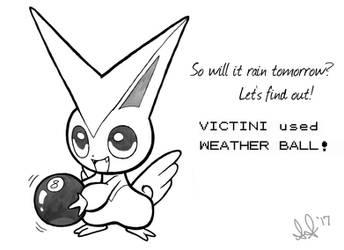 Pokemon: the TRUE Weather Ball by LuLuLunaBuna
