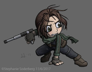 Star Wars: Jyn is my favorite character by LuLuLunaBuna